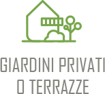 Giardini privati o terrazze