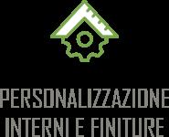 Personalizzazione interni e finiture